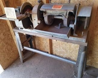 Lapidary Machine (Part of the Lapidary Equipment lot)
