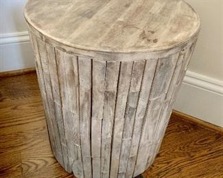 """West Elm """"wood"""" occasional table"""