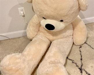 Oversized teddy bear