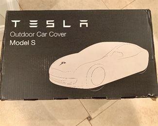 Tesla outdoor car cover Model S