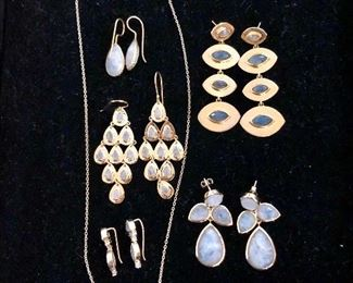 Labradorite, moonstone jewelry