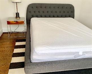 Full size West Elm platform bed
