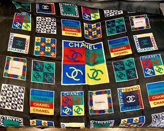 Faux Chanel scarf