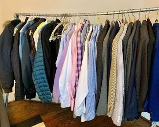 Men's clothing, suits