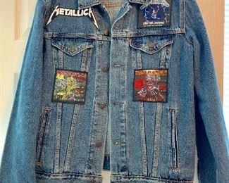 Metallica/Iron Maiden jean jacket