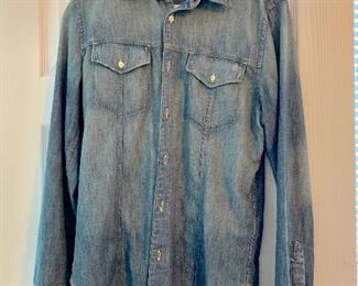 """""""7 for all mankind"""" jean shirt"""