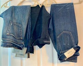 Men's designer jeans  (7 For Mankind, Grouture, rag & bone)