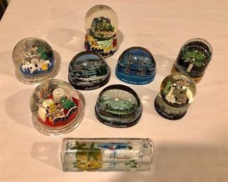 Snow globe collection!