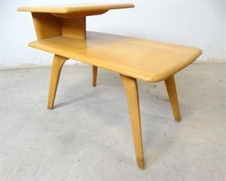 Heywood Wakefield Solid Wood End Table (2)