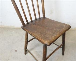 Primitive Spindle Back Chair