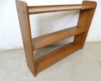 Vintage Solid Wood Bookshelf