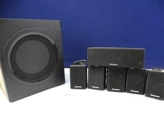Panasonic Brand Surround Sound Wired Speaker System