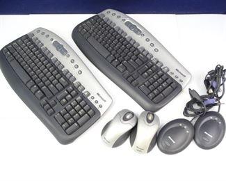 Microsoft Wireless Keyboards, Mice Receivers