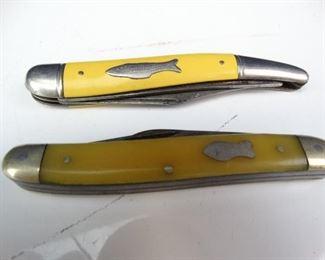 Vintage Carl Shlieper Imperial Folding Knives