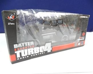 Battery Operated, Radio Controlled 4 Turbo SUV
