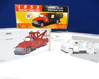 Vintage, Collectible Texaco Replica Vehicles