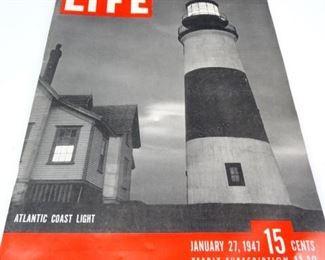 Large, Vintage Life Magazine Booklet, 1947