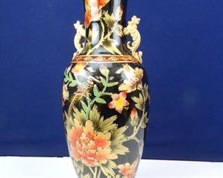 Large, Decorative, Ceramic Standing Vase