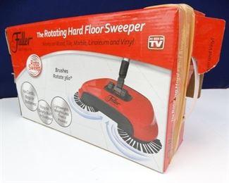 Original Roto Sweep Rotating Hard Floor Sweeper