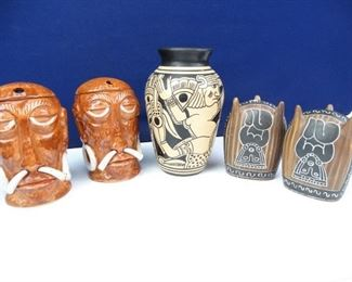 Aztec Bali Style Collectable Ceramics