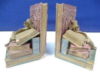 Vintage Designed Book End Set