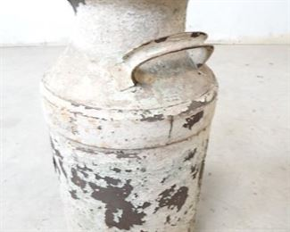Vintage Rustic Farmhouse Milk Jug