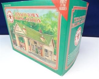 First in Series Collectible Porcelain Texaco Station