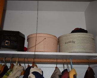 Dobbs, Marshall Fields Hat Boxes
