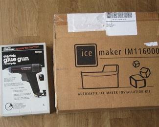 Easy feed glue gun.  Used ice maker.
