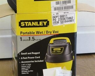 Easy to use wet/dry vac