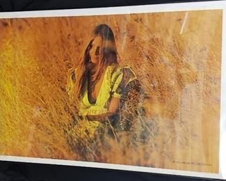 1970's Black Light Poster