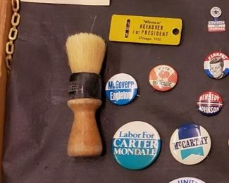 Vintage Campaign Buttons Including Ike