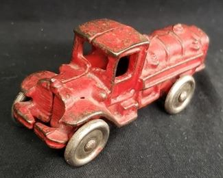 Old Cast Iron Fire Truck