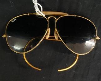 1970s Rayban Aviator Glasses
