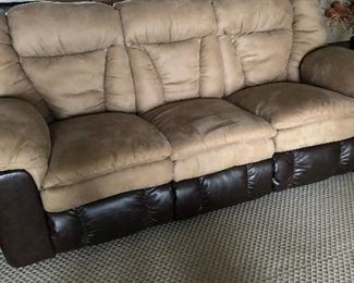 Loveseat section of sectional.
