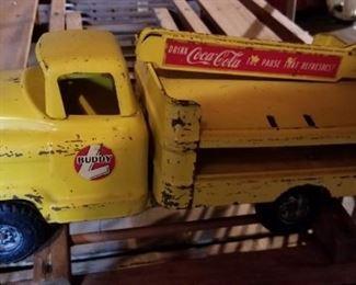 coca cola BUDDY L truck