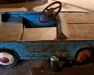 pedal car!