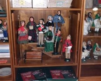 Large Vintage Byers Choice Choir Collection