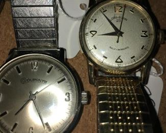 Lord elgin,  dufonte watches -  both in running condition