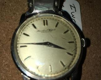 iwc Schaffhausen - 1960s - recently serviced, excellent running condition