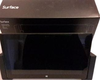 Surface computer with docking station.