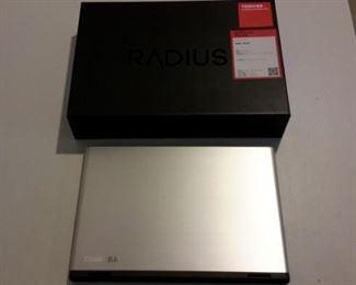 Toshiba Satellite Radius laptop, like new, in box.