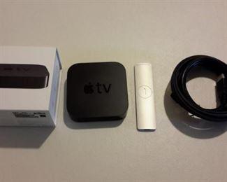 Apple TV w/box
