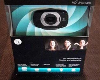 Logitech C615 HD Webcam, new in box.