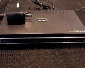 D-Link Gigabit Switch DGS-2208
