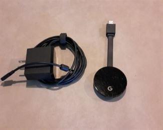 Google Chromecast Ultra, with box.