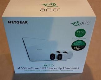"Netgear ""ARLO"" 4 Wire-Free HD Security Camera, new in box."