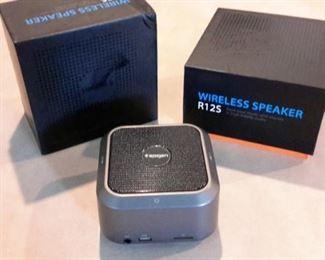 Spigen wireless speakers (2), like new, in box.