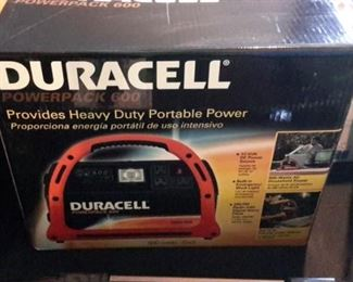 Duracell Powerpack 600, new in box.