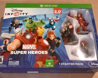 Disney Infinity Xbox one Marvel Super Heroes starter pack, new in box.